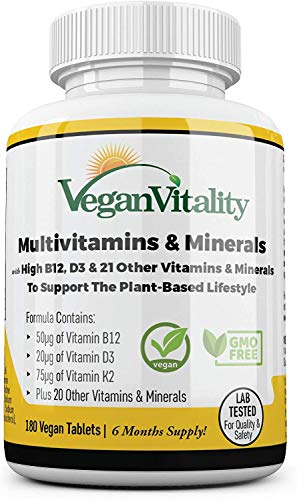 Vegan Vitality Vegane Multivitamine Bild