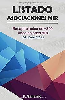 Listado: Asociaciones MIR.: Recapitulación de 800