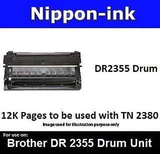 Nippon-ink DR2355 (Drum) For Use on Brother Laser Drum - MFC series: MFC-L2700D, MFC-L2700DW, MFC-L2740DW. HL series: HL-L...