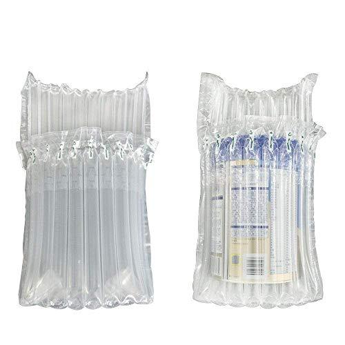 Sourcemall - Paquete de 20 bolsas de aire para embalaje hinchables de viaje, con una bomba de color al azar