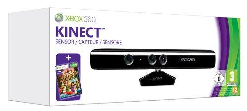 Microsoft Xbox 360, Kinect Sensor - accesorios de juegos de pc (Kinect...