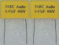 フィルムコンデンサー(0.47uF) 2個セット DCP-FC001-047-2