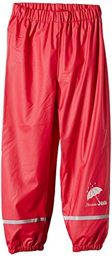 Sterntaler GmbH (Apparel NEW) Sterntaler Kinder Unisex Regenhose, Alter: 4-6 Jahre, Größe: 110, Rot