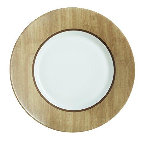 Luminarc 8012779.0 Nordic Alpaga Assiette Dessert Opale Marron 22 x 22 x 2 cm