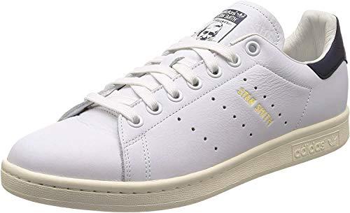 adidas Stan Smith, Scarpe da Fitness Uomo, Bianco (Ftwbla/Ftwbla/Tinnob 000), 43 1/3 EU