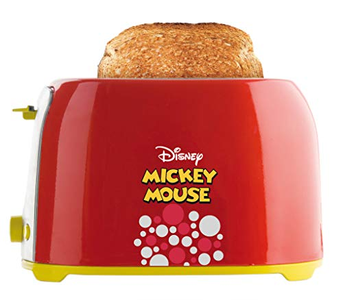 Torradeira Mickey Mouse, Mallory, Vermelho/Amarelo