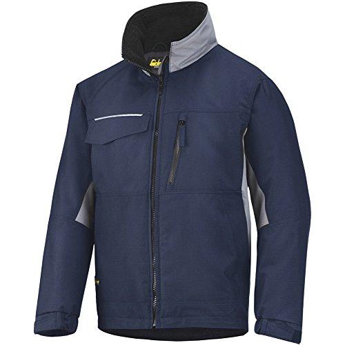 Snickers werkkleding werk winterjas XXL Navy Blue/Black