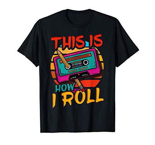 80's 90's Music Cassette Tape T-Shirt