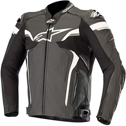 Alpinestars Celer V2 - Chaqueta de cuero para motorista, color negro y...