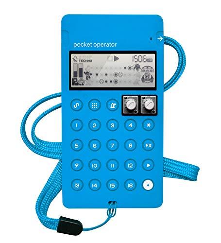 Teenage Engineering CA-X Pro Silicone Protective Case for Pocket Operator PO-128 Mega Man (Blue)