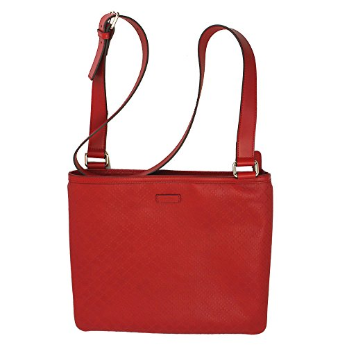 "Size: 13.8""x 11.8"", 35cmx 30cm Color: Red Material: Leather Inside: zip pocket x 1, phone pocket x 2 Includes: dust bag"