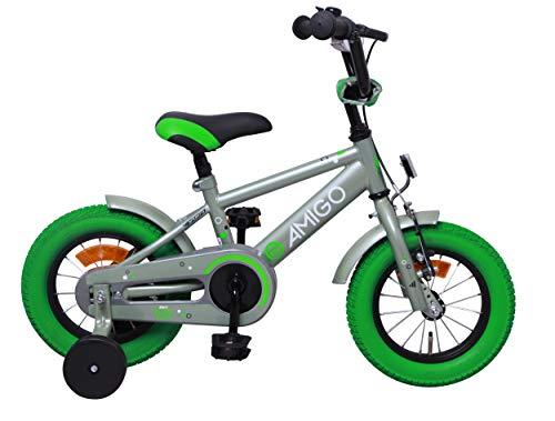 Amigo Sports - Bicicleta Infantil de 12 Pulgadas - para niños de...