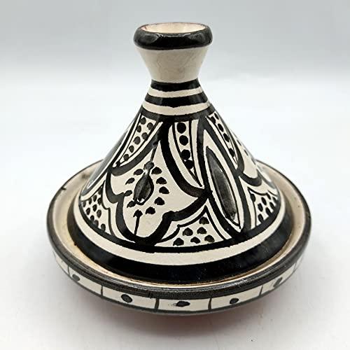 Decoración étnica Mini Tajine Marruecos Especias Salsas Cerámica Terracota 2004211008