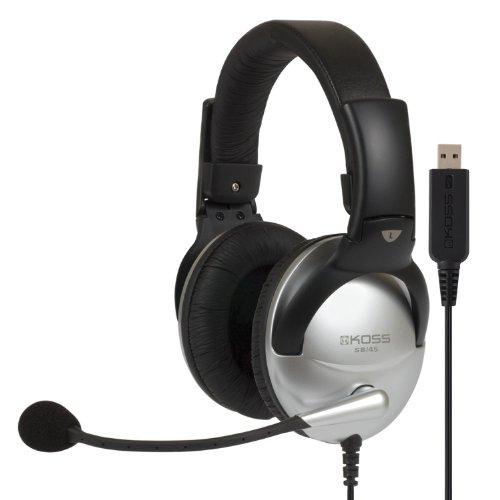 Koss Multimedia Stereo Headphone with USB Plug (SB45 USB)