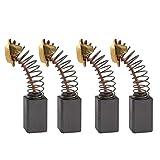 2 pares de escobillas de carbón para motor 14,5 x 7,5 x 6,5 mm, compatible con Performance Power FMTC620RHK