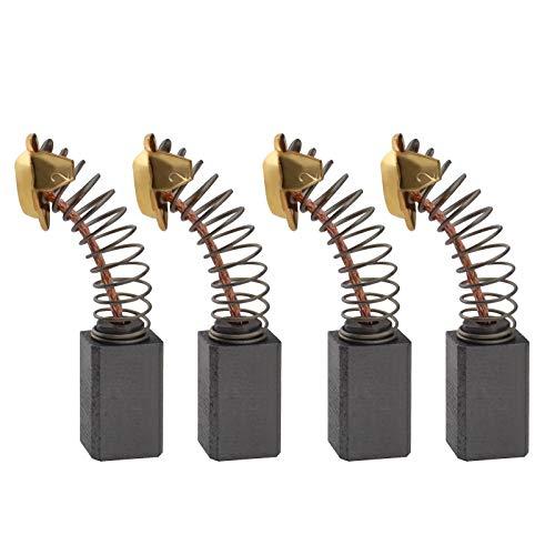 2 Paar Kohlebürsten Motorbürsten 14,5 x 7,5 x 6,5 mm kompatibel mit Performance Power FMTC620RHK Bohrhammer Ersatzteil