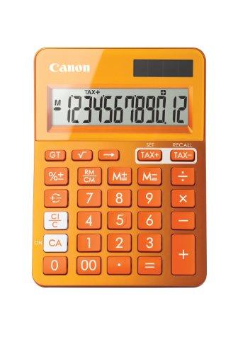 Calculadora sobremesa Canon LS-123K Naranja
