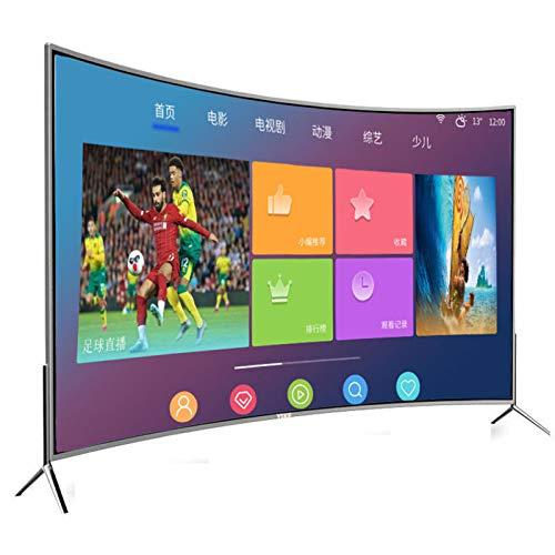 TV LCD LED 4K HDR Full HD, TV Android compatible con función de proyección de teléfono móvil, TV en red WiFi con pantalla curva a prueba de explosiones para el hogar, 32/50/55 pulgadas