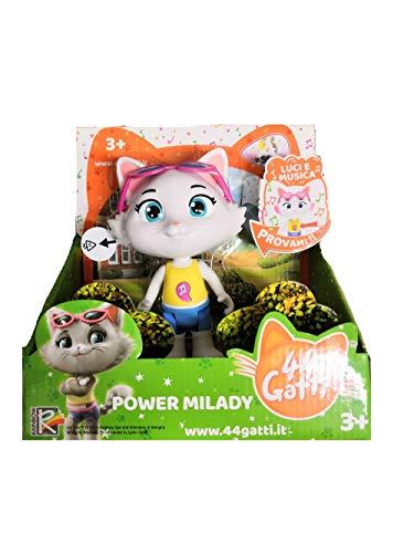Simba Toys. Personaggio 44 Gatti Milady con Luci e Suoni 15 cm Prodotto Ufficiale 3+