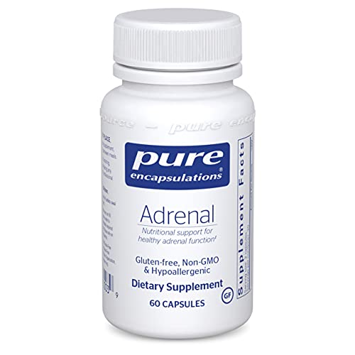 Pure Encapsulations Adrenal | Supplement to Support Healthy Cortisol Levels  Fatigue  Stress Moderation  and Adrenal Gland Function* | 60 Capsules