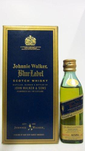 Johnnie Walker - Blue Label Miniature #1 - Whisky
