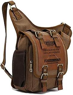 Kaukko Messenger Bag for Men - Canvas, Brown