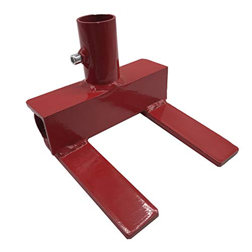 Pallet Buster, Deck Wrecker, Pallet Disassembly Tool, Deck Board Remover, Best Wrecking Pry Bar for Breaking Pallets, Industrial Breaker for Removing or Tearing Down Woods, Chili Red