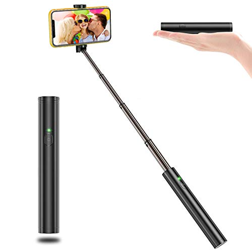 affodable Vproof Selfie Stick Bluetooth, Lightweight Aluminum Universal Selfie Stick iPhone 11 Pro Max / 11 Pro / 11 / XS / XS Max / XR / X / 8/8 Plus / 7 / 6s / 6, Galaxy S10 / S9 / S8 / S7 / S6 / Note, others
