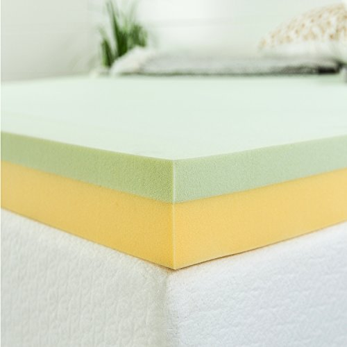 Zinus Green Tea Memory Foam Mattress Topper