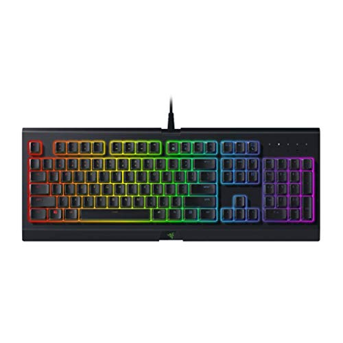 Razer Cynosa Chroma Gaming Keyboard: 168 Individually Backlit RGB Keys - Spill-Resistant Design - Programmable Macro Functionality - Quiet & Cushioned