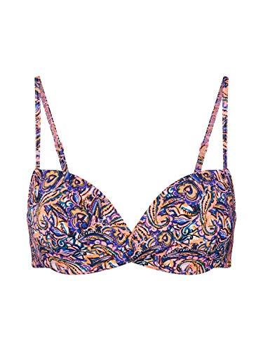 Skiny Damen Schalen BH Bikini Oberteil Parte de Arriba, Gypsy Paisley, 90B (Talla del Fabricante: 75B) para Mujer