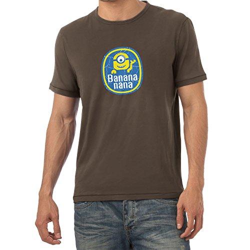 Texlab - Banana Nana - Herren T-Shirt, Größe L, braun