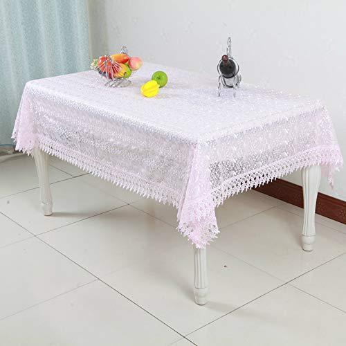 YOUYUANF tischdecke Garten Rechteckige Tischdecke Einfache Tischdecke aus Spitze, geeignet für Küchendekorationen unterschiedlicher Größe120x170cm