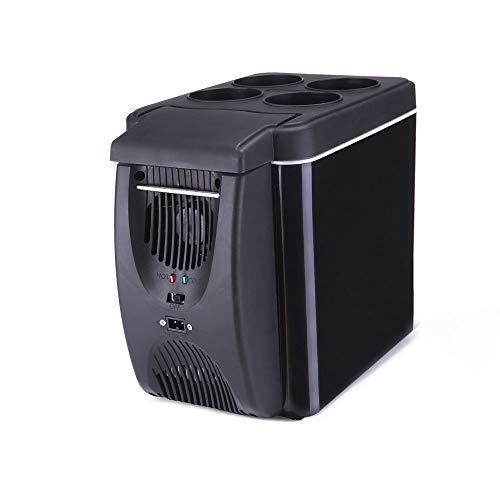 NXYJD Portatile del Dispositivo di Raffreddamento 6L Mini Frigo 12V Frigorifero dormitorio di Raffreddamento di Sicurezza di Tocco Congelatore Silenzioso Auto Frigo