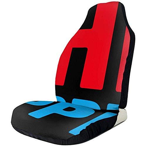Shit Happens Grunge Coprisedili per auto Sedili anteriori Solo secchio pieno Protezione per sedile Cuscini per seggiolino auto per camion o furgoni SUV per auto, 50 * 135 cm, 2 pezzi