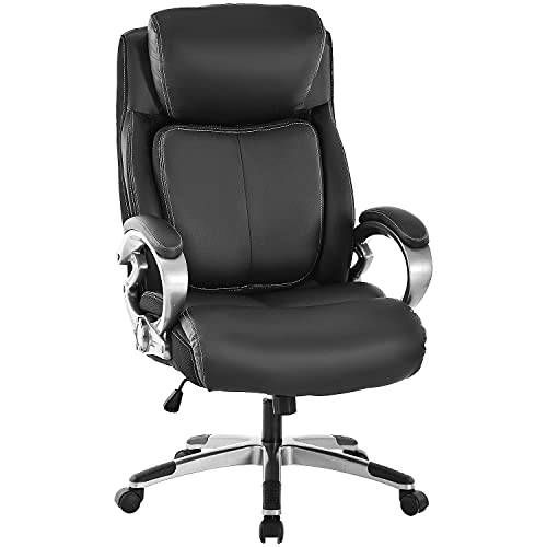 REFICCER Bonded Leather Office Chair