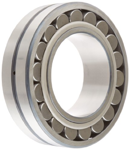 FAG 22222E1AK-M-C3 Spherical Roller Bearing, Tapered Bore, Brass Cage, C3 Clearance, Metric, 110mm ID, 200mm OD, 53mm Width, 4000rpm Maximum Rotational Speed, 600kN Static Load Capacity, 550kN Dynamic Load Capacity