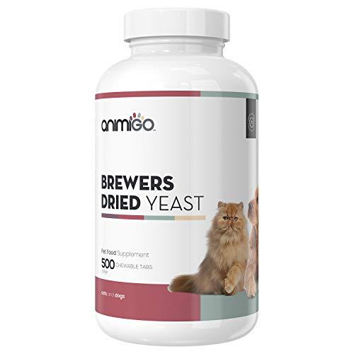 Integratori Per Cani - Gatti - Lievito Di Birra Per Cura Di Pelo, Pelle E Sistema Immunitario - Multivitaminico - Vitamine B, C E Minerali Per Una Naturale Cura Di Pelle E Pelo - 500 Compresse