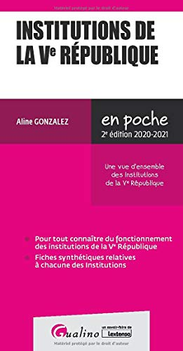 Institutions de la Ve République (2020-2021)