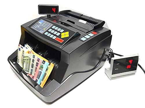 CONTA BANCONOTE VERIFICA SOLDI FALSI RILEVA VALORIZZATORE Contabanconote per banconote miste verifica valorizza conta rilevatore Soldi Falsi rileva contraffazione
