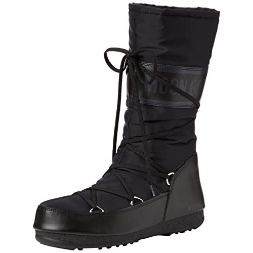 Moon Boot W.E. Soft Shade WP, Stivali da Neve Donna, Nero (Nero 001), 37 EU