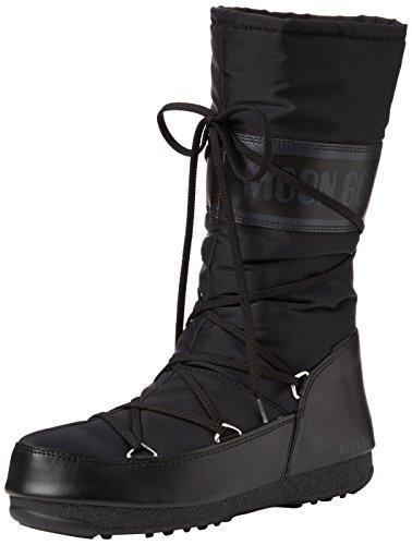 Moon Boot W.E. Soft Shade WP, Stivali da Neve Donna, Nero (Nero 001), 40 EU