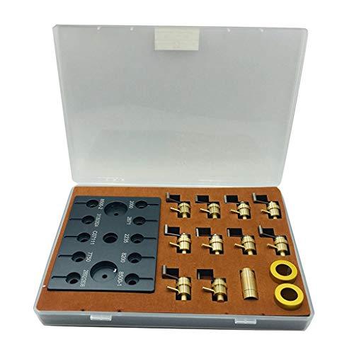 F Fityle 1Set Reparaturwerkzeug Hauptfeder Wickler Set Uhrmacher DIY Uhr Reparatursatz+Kugelschreiber 0,5 Mm Nachfüllungen Gelschreiber Schreibbüro Schule Hell