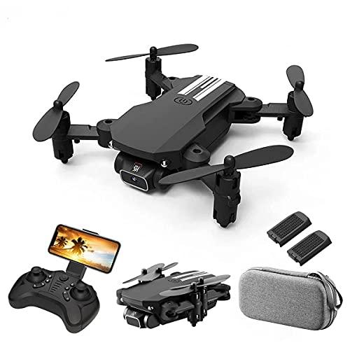 JJDSN Mini Drone RC Quadricottero con Fotocamera 480P 13 Minuti Tempo di Volo 360° Flip 6-Axis Gyro Gesture Foto Video Traccia Volo Altitudine Tenere Senza Testa Drone Telecomando per Bambini Adul