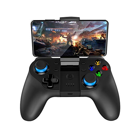 Mobile Game Controller, Wireless Gamepad Multimedia Game Controller Joystick Compatible with...
