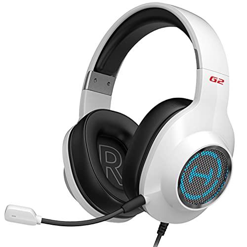 Edifier Gamer G2 II Sound 7.1 USB RGB White Headphones