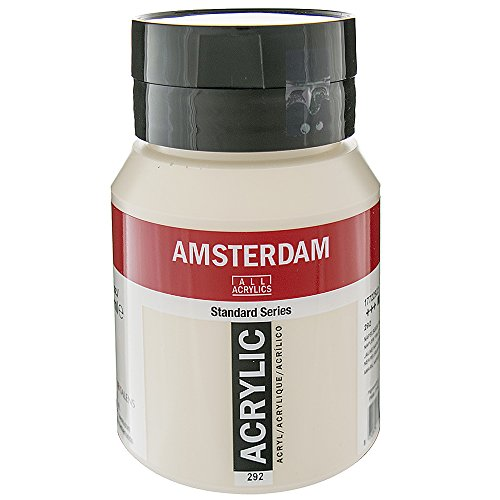 Amsterdam Acryl Kleur 500ml fles NAPLES GEEL ROOD LICHT