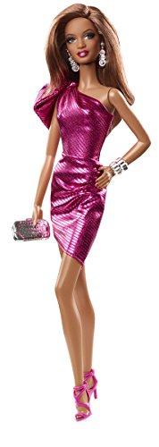Barbie - Cjf52 - The Look - Robe Rose