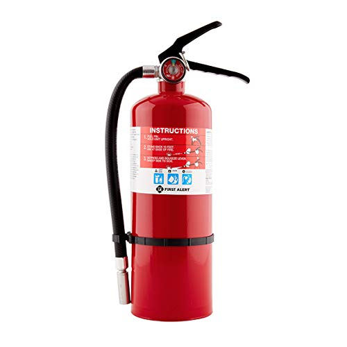 First Alert Fire Extinguisher | Large Home Fire Extinguisher, Red, FE2A10GR Connecticut
