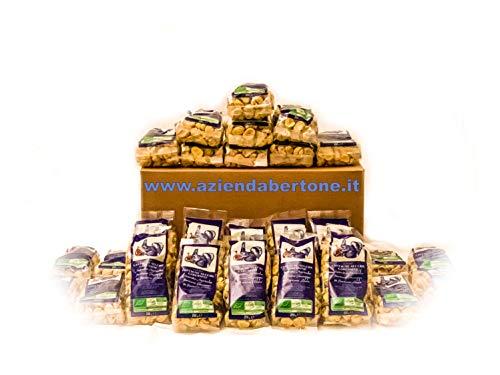 Castagne Secche Garessine Biologiche 7 Kg di Cuneo (28 Confezioni da 250g)